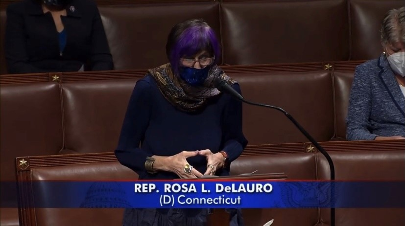 DeLauro Floor Remarks Urging Colleagues to Impeach the President